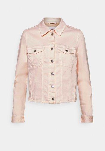 Denim jacket - light blush denim