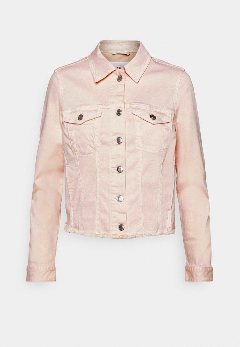 s.Oliver - Denim jacket - light blush denim
