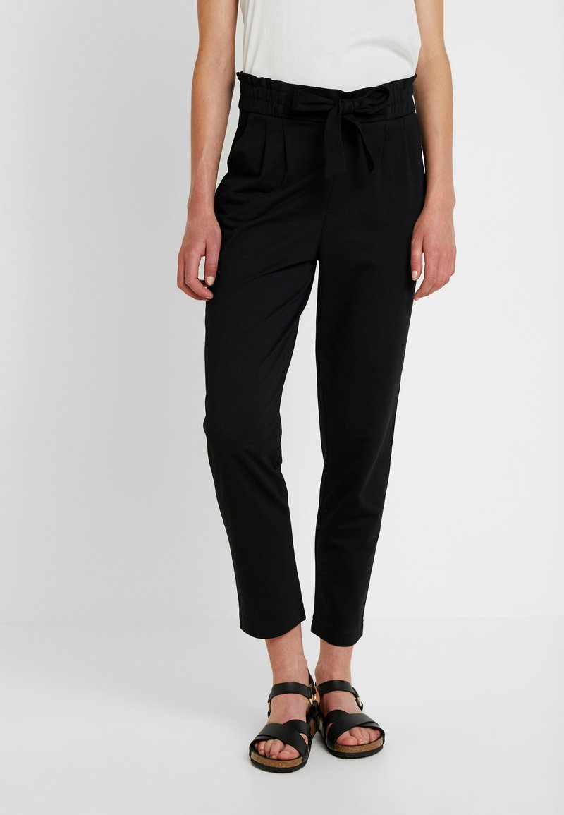 Vero Moda - VMDATCA BUCKET PANTS - Tracksuit bottoms - black