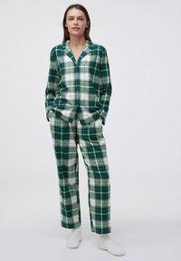 OYSHO - Pyjama top - green - 1
