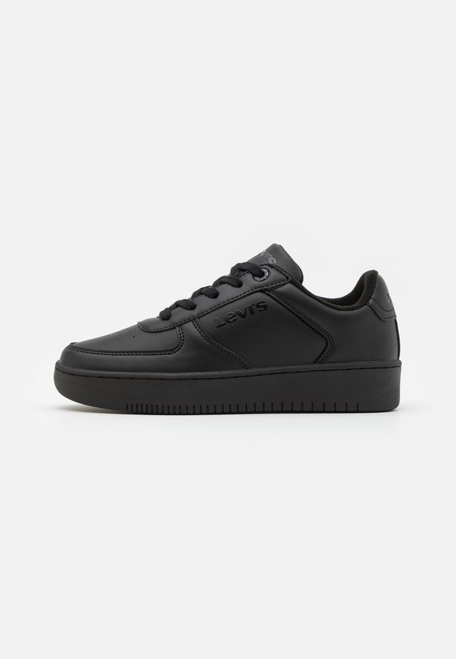 NEW UNION UNISEX - Sneakers laag - black