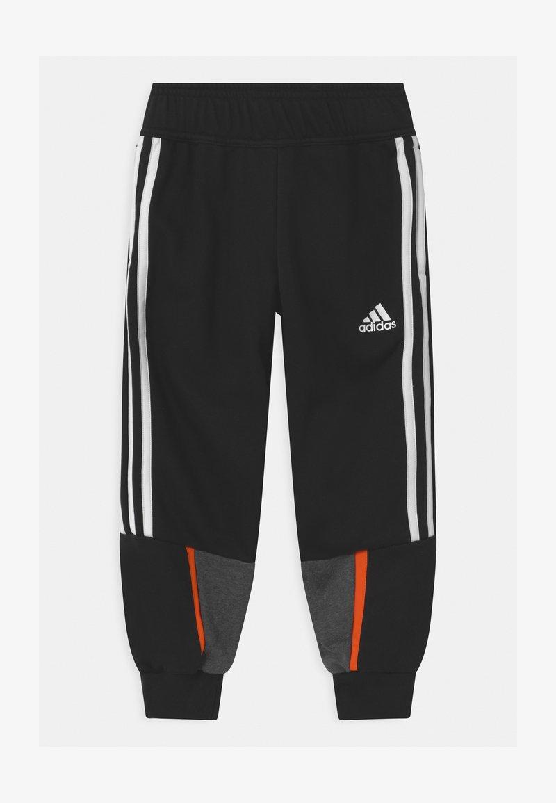 adidas Performance - BOLD UNISEX - Tracksuit bottoms - black/dark grey