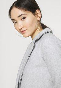 JDY - JDYBONDY - Classic coat - light grey melange - 3
