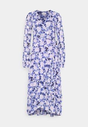 NATASJA FRILL DRESS - Day dress - marigold/lilac