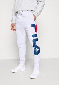 Fila - PURE - Teplákové kalhoty - bright white - 0