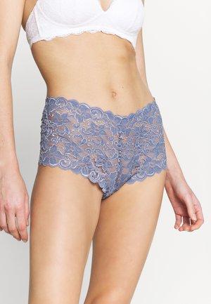 MOMENTS MAXI - Pants - caribbean blue