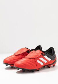 adidas Performance - COPA GLORO 20.2 FG - Moulded stud football boots - active red/footwear white/core black - 2