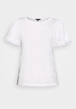 INSERT TEE - Print T-shirt - white