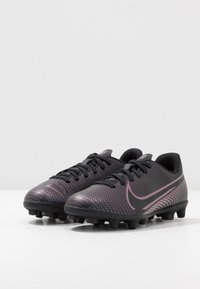 Nike Performance - MERCURIAL JR VAPOR 13 CLUB FG/MG UNISEX - Korki Lanki - black - 3