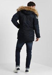 Alpha Industries - AIRBORNE - Winter coat - rep blue - 2