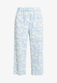 Moss Copenhagen - GRO CULOTTE - Trousers - blue - 3