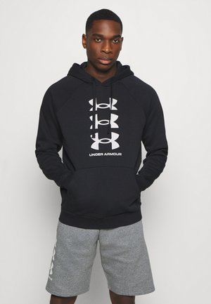 RIVAL MULTILOGO - Sweat à capuche - black