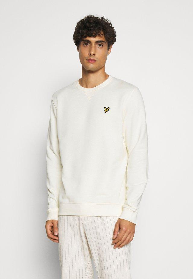 CREW NECK - Sweatshirt - vanilla ice