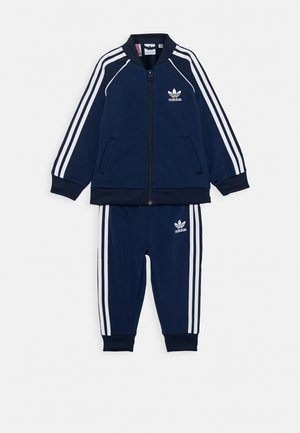 TRACKSUIT SET - Trainingsanzug - conavy/white