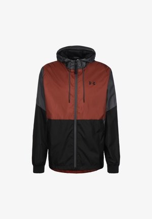 FIELD HOUSE - Windbreaker - cinna red / black
