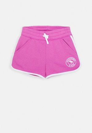 VINTAGE CURVE HEM - Shorts - pink