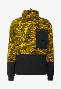 The North Face - RAGE CLASSIC  - Bluza z polaru - leopard yellow - 4