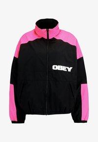 Obey Clothing - BRUGES JACKET - Training jacket - black - 6