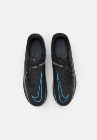 Nike Performance - JR. PHANTOM GT2 ACADEMY UNISEX - Moulded stud football boots - black/iron grey - 3