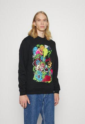 LOGO MASH CREW UNISEX - Sweater - black