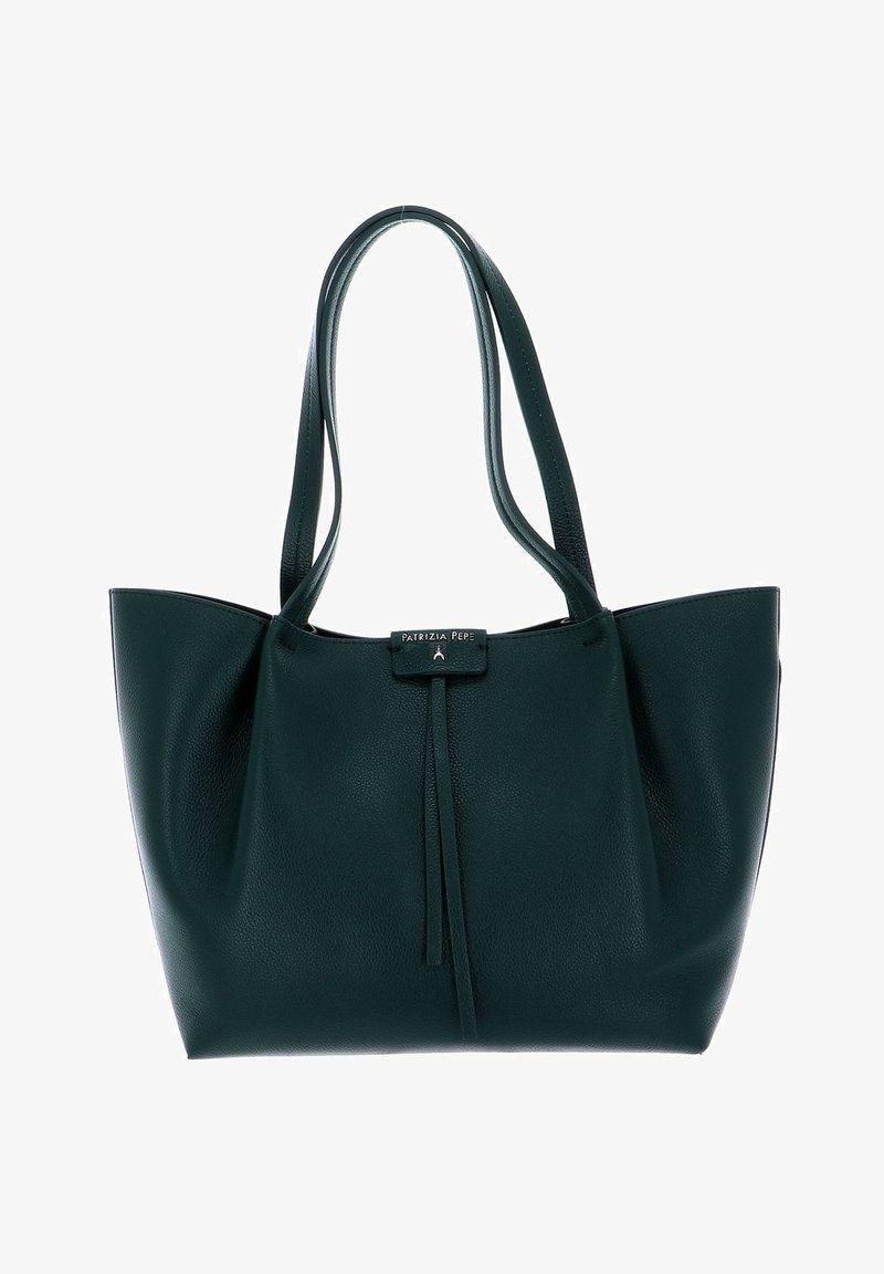 Patrizia Pepe - PEPE CITY SHOPPER - Tote bag - s.e.l.f. green