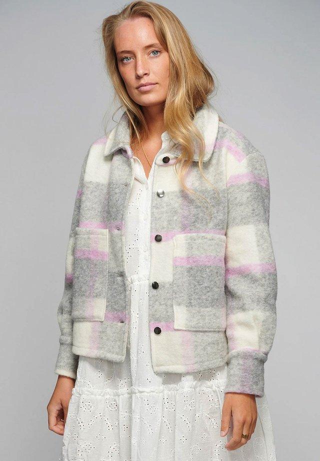 VIKSA - Summer jacket - light grey pink