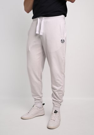 NEW ELBOW PANTS - Tracksuit bottoms - wht/nav