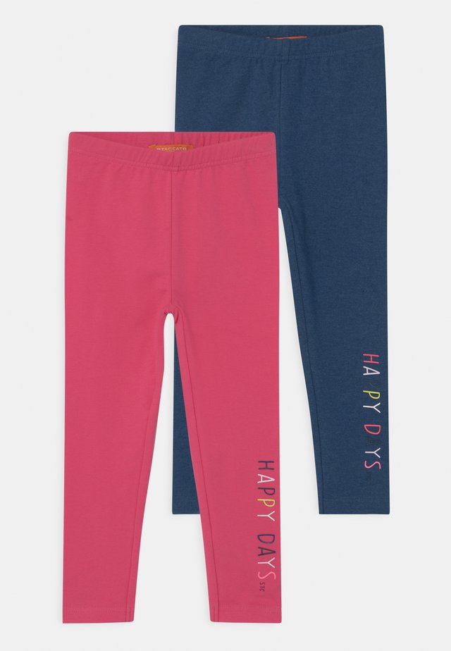 2 PACK - Leggings - Trousers - multi-coloured