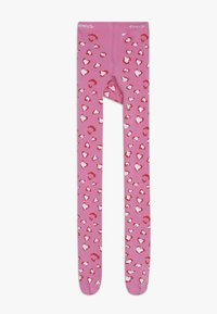 Ewers - LEOPARD 2 PACK - Tights - pink/creme - 2