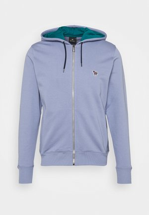 MENS REGULAR FIT ZIP HOODY - Zip-up hoodie - bright blue