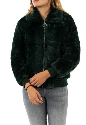 Fleece jacket - vert
