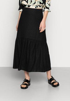 SKIRT FLORENCE - Jupe plissée - black
