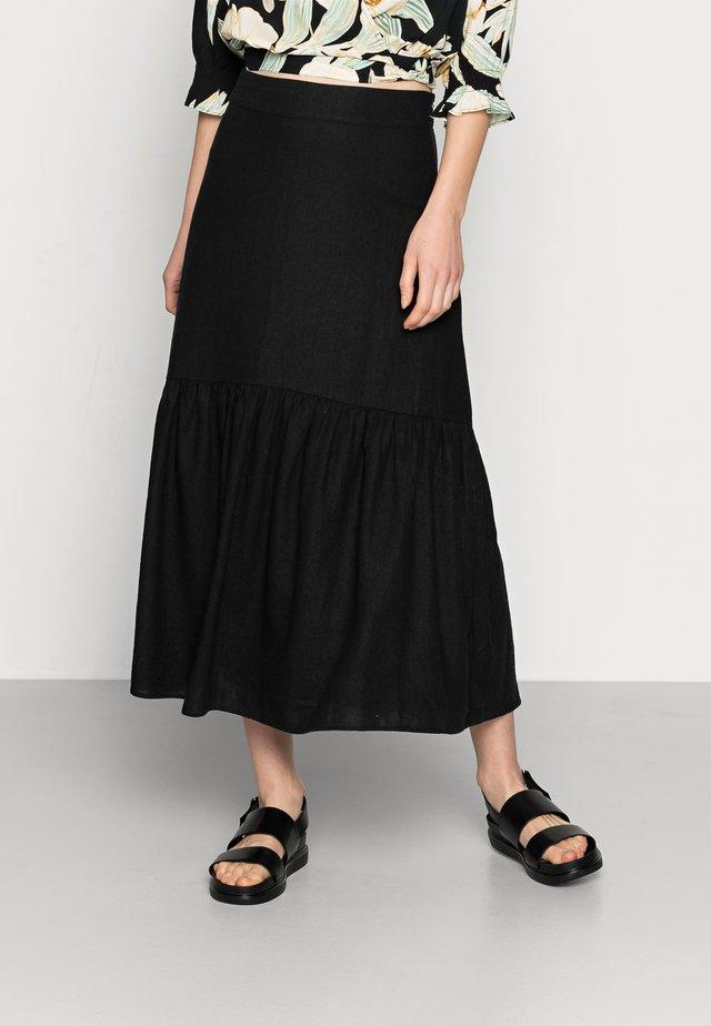 SKIRT FLORENCE - Pleated skirt - black