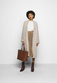 Polo Ralph Lauren - RESE SKIRT - A-line skirt - brown/tan houndst - 1