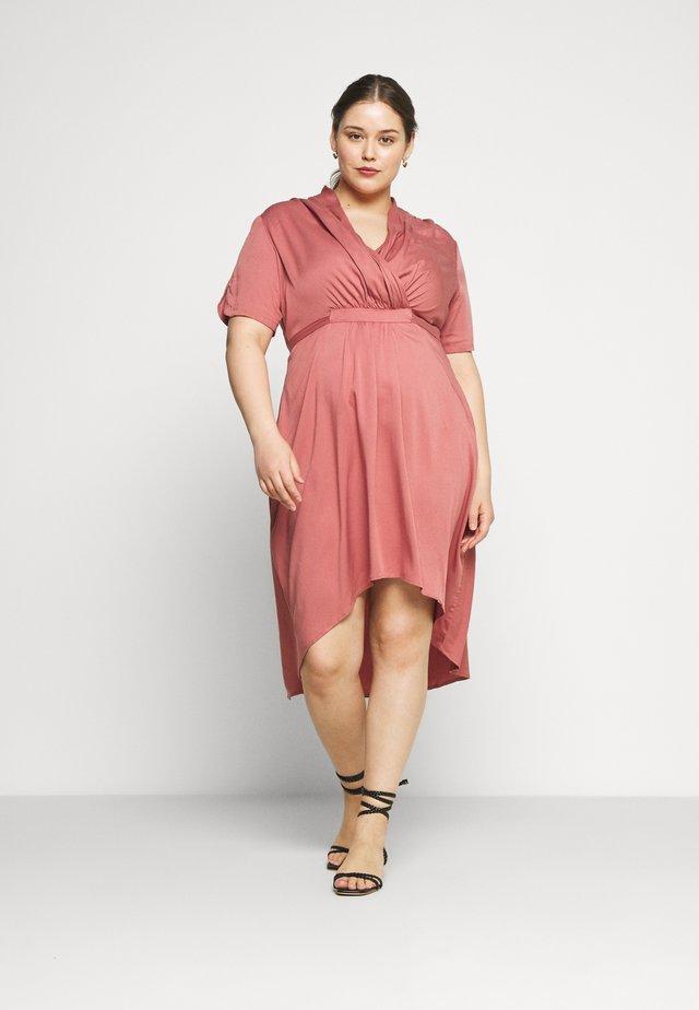 JRSINKA ABOVE KNEE DRESS - Day dress - canyon rose