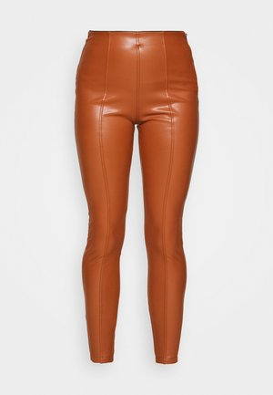 Leggings - rust