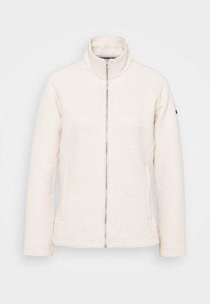 SADIYA - Fleece jacket - light vanilla