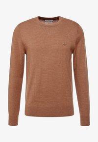 Calvin Klein Tailored - Stickad tröja - gold - 3