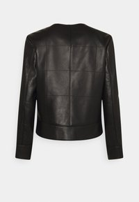 Coach - QUILTED FEMININE JACKET - Giacca di pelle - black - 1