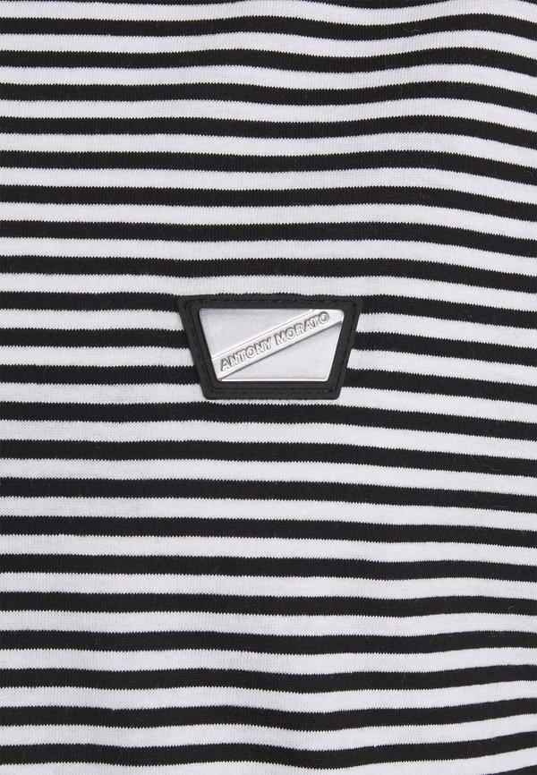 Antony Morato REGULAR FIT - T-shirt z nadrukiem - nero/czarny Odzież Męska MKPW
