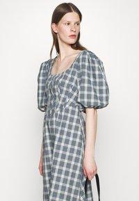Alexa Chung - CORSET DRESS - Cocktailkleid/festliches Kleid - green/ pale blue - 3