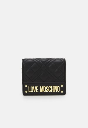 QUILTED SOFT QUILTED SOFT - Wallet - nero