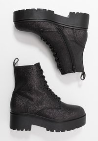 Bullboxer - Lace-up ankle boots - black - 5