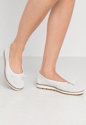DA.-BALLERINA - Ballet pumps - white