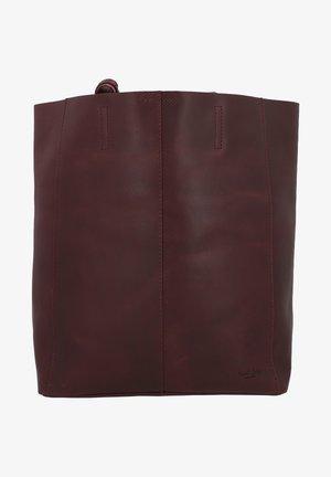 Shopping bag - burgundy