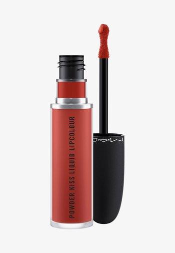 POWDER KISS LIQUID LIPCOLOUR - Liquid lipstick - devoted to chili