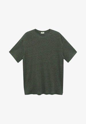 LINEL - T-shirt basic - grønn