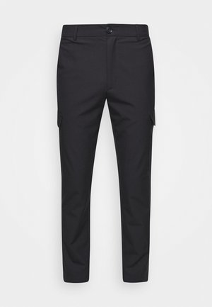 HAROLD TROUSERS - Cargobyxor - blueberry