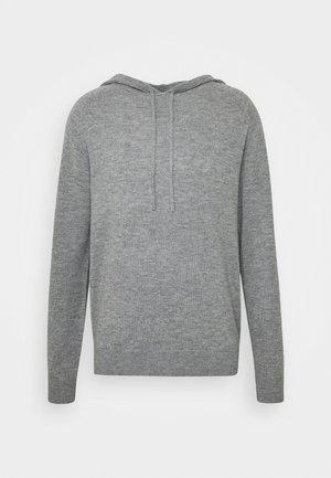 NAKKNE - Jersey con capucha - med grey mel
