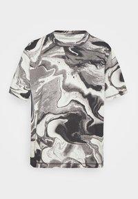 RUSH TEE - Print T-shirt - dark grey